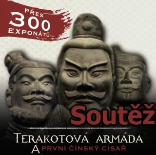 SOUTĚŽ o vstupenky na výstavu TERAKOTOVÁ ARMÁDA