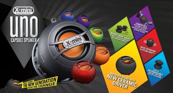 Soutěž o keramický mobilní reproduktor X-mini UNO mono