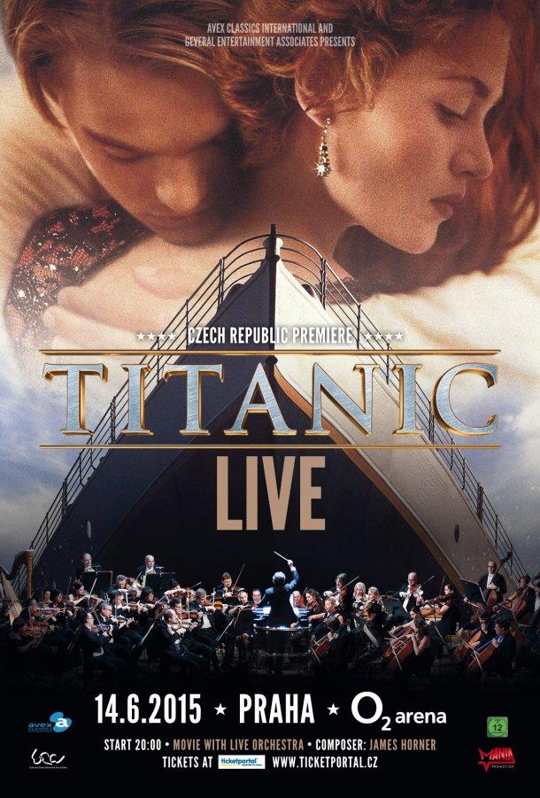 SOUTĚŽ o vstupenky na  audiovizuální show TITANIC LIVE