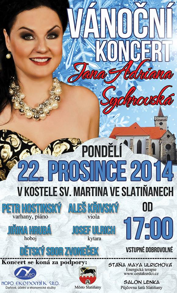 Vánoční koncert ve Slatiňanech