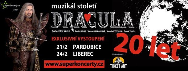 Muzikál Dracula oslaví 20 let v Pardubicích a Liberci