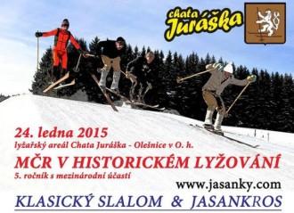 Mistrovství České republiky v historickém lyžování 2015