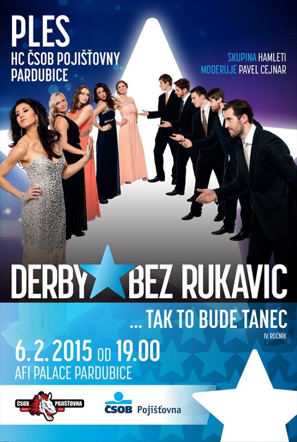 Ples HC ČSOB Pardubice je již za dveřmi