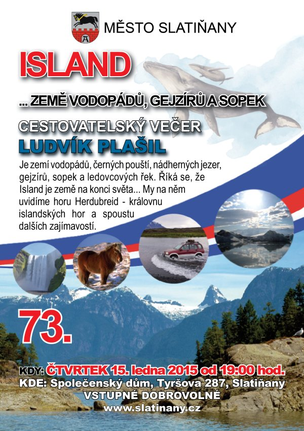 Cestovatelský večer o Islandu
