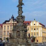 Historická Chrudim – Morový sloup Proměnění Krista