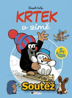 SOUTĚŽ o knihu KRTEK v zimě - 5x puzzle