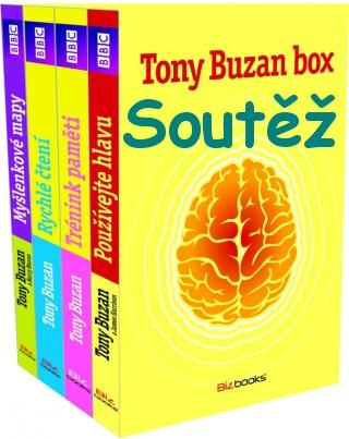 SOUTĚŽ o knižní box - Tony Buzan Box