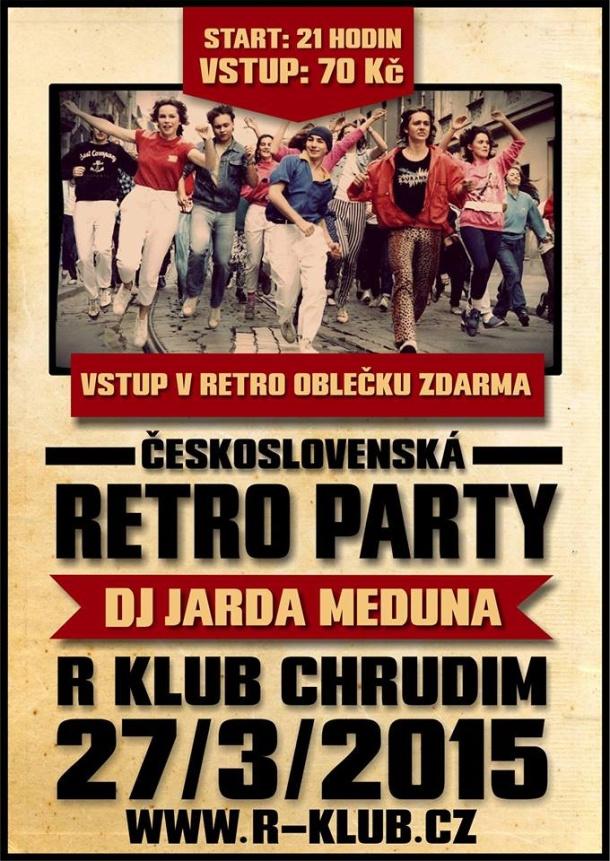 SOUTĚŽ o vstupenky na Československou retro párty