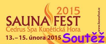 SaunaFest 2015 - soutěž o vstupenky