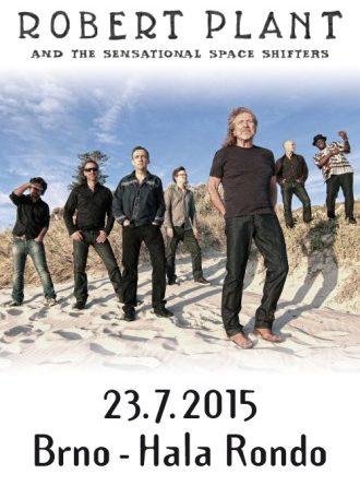 Slavný zpěvák Robert Plant vystoupí v Brně