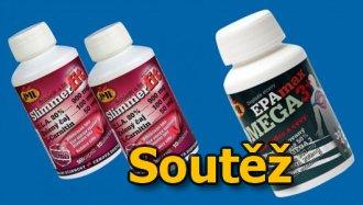 SOUTĚŽ o dva doplňky stravy - SlimmerFit a EPAmax Omega 3+