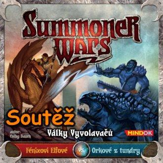 SOUTĚŽ o karetní hru SUMMONERS WARS