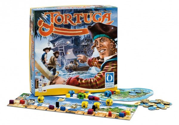 SOUTĚŽ o deskovou hru TORTUGA