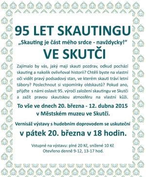 95 let skautingu ve Skutči