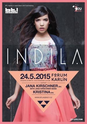 Do Prahy míří francouzská zpěvačka Indila