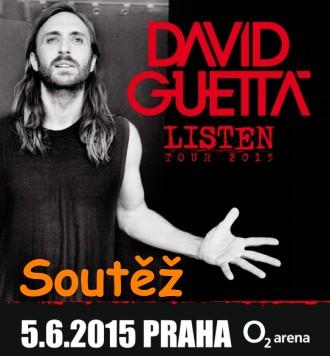 SOUTĚŽ o dvě vstupenky na koncert DAVIDA GUETTY