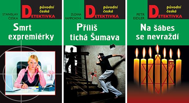 SOUTĚŽ o tři české detektivky