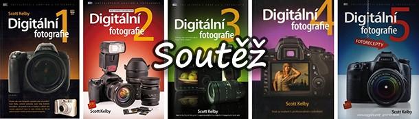SOUTĚŽ o knižní komplet Digitální fotografie 1 - 5