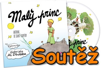 SOUTĚŽ o tři audioknihy Malý Princ