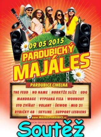 Soutěž o vstupenky na Majáles Pardubice 2015