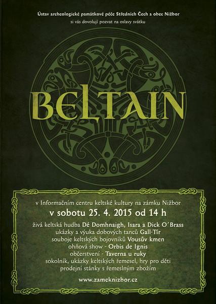 Oslava keltského svátku BELTAIN na zámku Nižbor