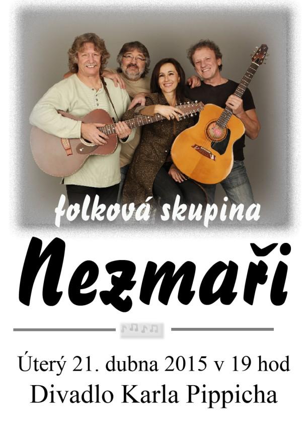 Folková skupina Nezmaři míří do Chrudimi