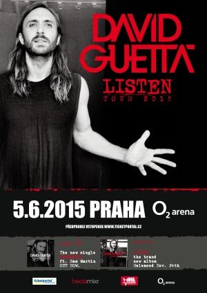 Po pěti letech se do Prahy vrátí David Guetta