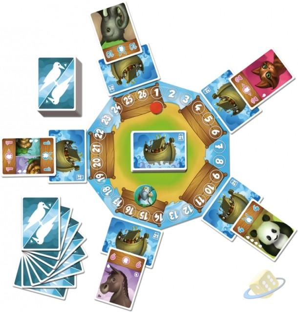 SOUTĚŽ o karetní hru NOÉ