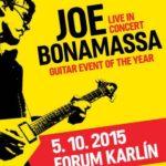 Kytarová událost roku je tady. Joe Bonamassa přijede koncertovat do Prahy!