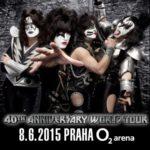 Masky připravit – Kiss na turné ke 40 letům nevynechají ani Prahu