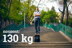 Nosnost konstrukce batohu je 130 kilogramů.