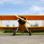 Boeing Stearman ve zbarvení československých pilotů