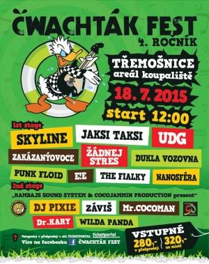 Na Čwachták fest do Třemošnice