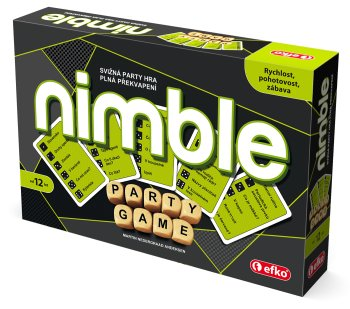 NIMBLE - svižná party hra na prázdniny