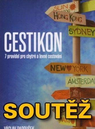 SOUTĚŽ o tři knihy o cestování - CESTIKON