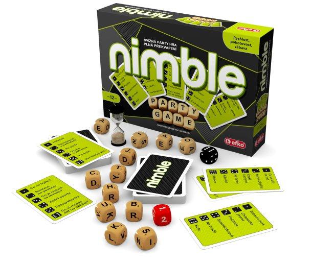 SOUTĚŽ o svižnou party hru NIMBLE
