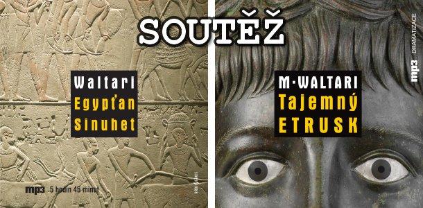 SOUTĚŽ o dvě audioknihy Mika Waltariho