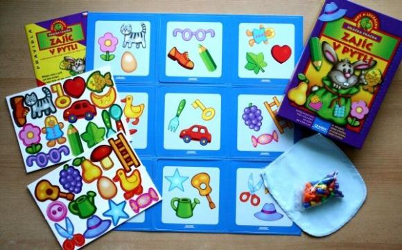 Zajíc v pytli - dětská hra společnosti Granna