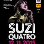Suzi Quatro oslavila 65 let a v listopadu se k nám vrací