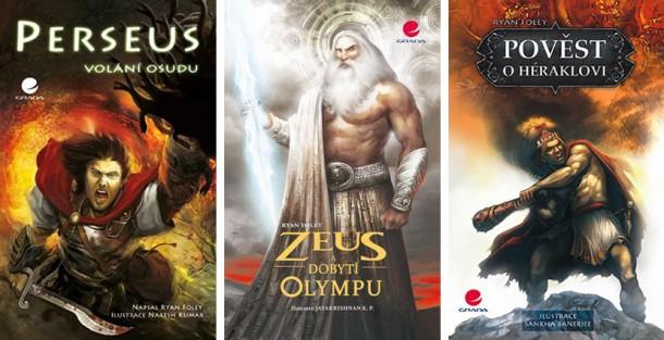 SOUTĚŽ o tři KOMIKSY na téma řeckých mýtů a legend