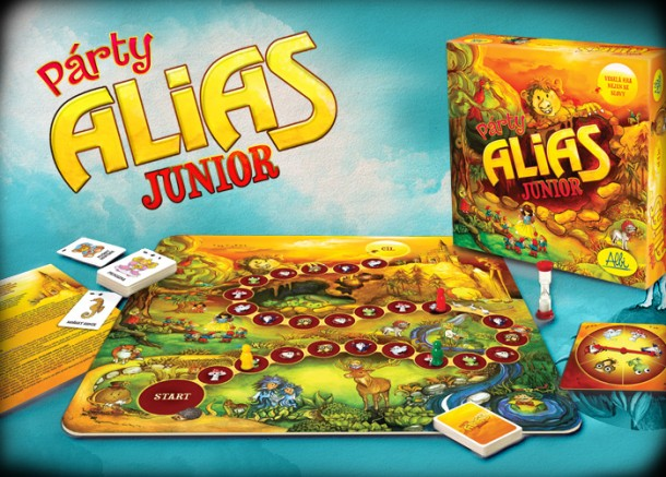 SOUTĚŽ o zábavnou dětskou hru PÁRTY ALIAS JUNIOR