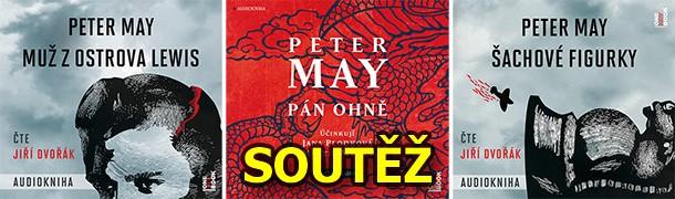 SOUTĚŽ o tři audioknihy Petera Maye