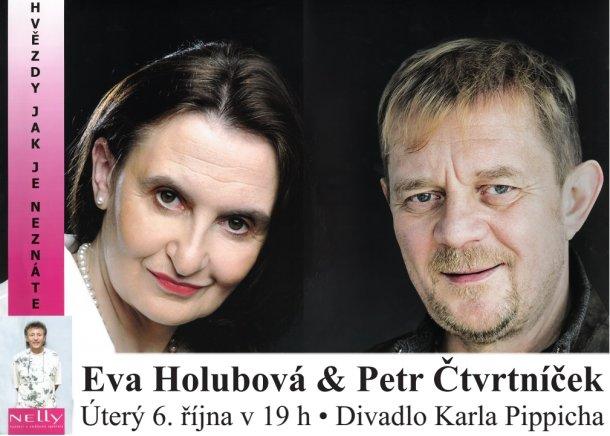 Eva Holubová & Petr Čtvrtníček - Hvězdy, jak je neznáte
