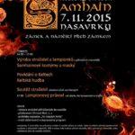 Přijďte do Nasavrk oslavit keltský Nový rok – SAMHAIN