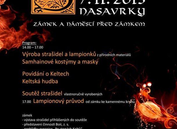 Přijďte do Nasavrk oslavit keltský Nový rok - SAMHAIN