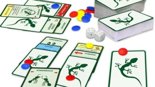 SOUTĚŽ o karetní hru EVOLUCE - O původu druhů