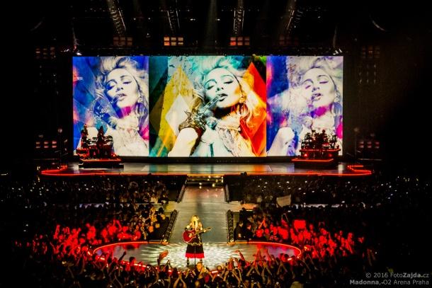 Madonna, foto: Jaromír Zajda Zajíček
