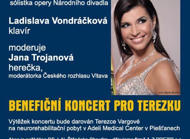 Andrea Tögel Kalivodová zazpívá 20. listopadu v Chrudimi