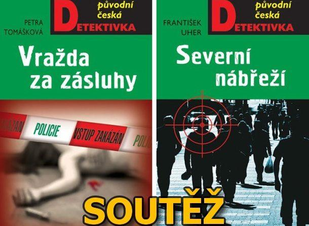 SOUTĚŽ o dvě původní české detektivky z nakladatelství MOBA