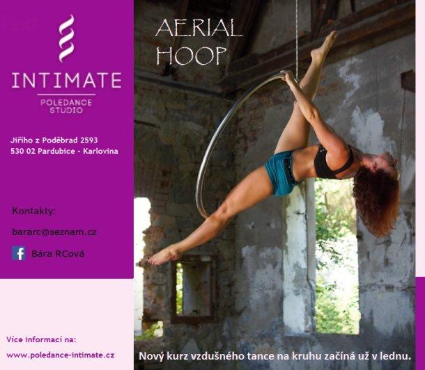 SOUTĚŽ o slevy na kurz Aerial Hoop v Pardubicích